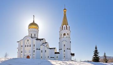 Храм (зима)